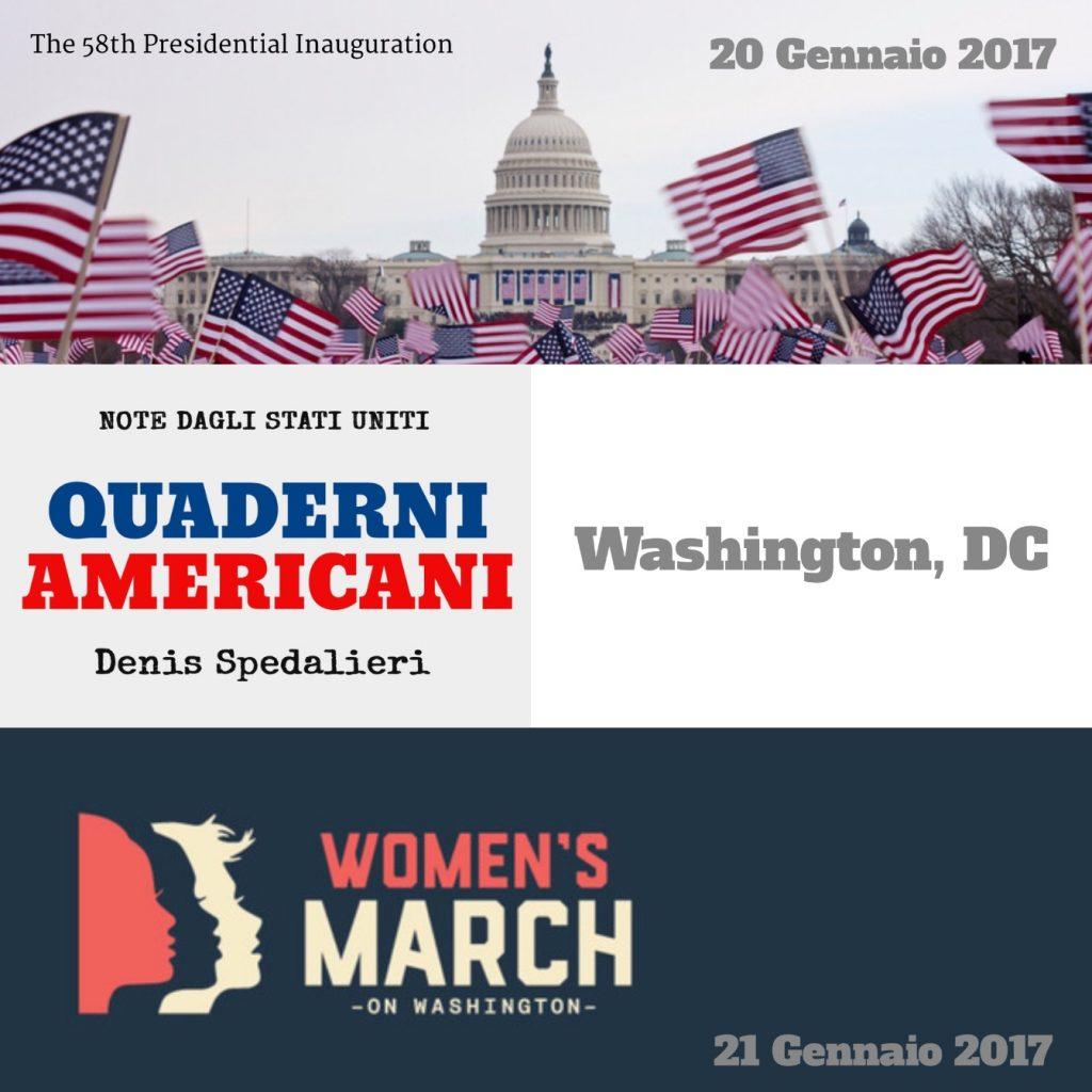 Inaugurazione Presidente USA, Marcia delle Donne su Washington