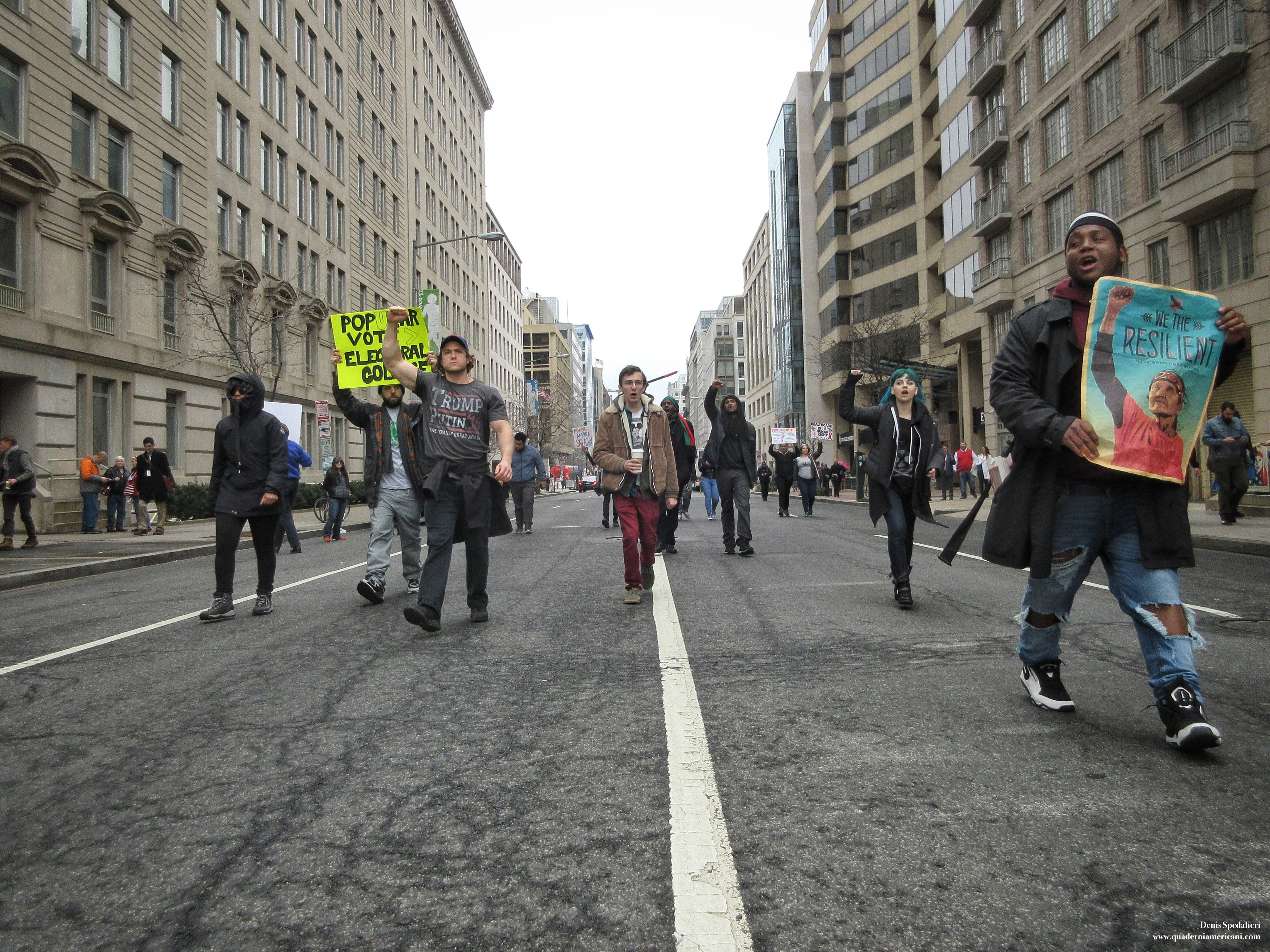 Washington, DisrupJ20, protesters, Trump, Inauguration Day, Inauguration Day 2017