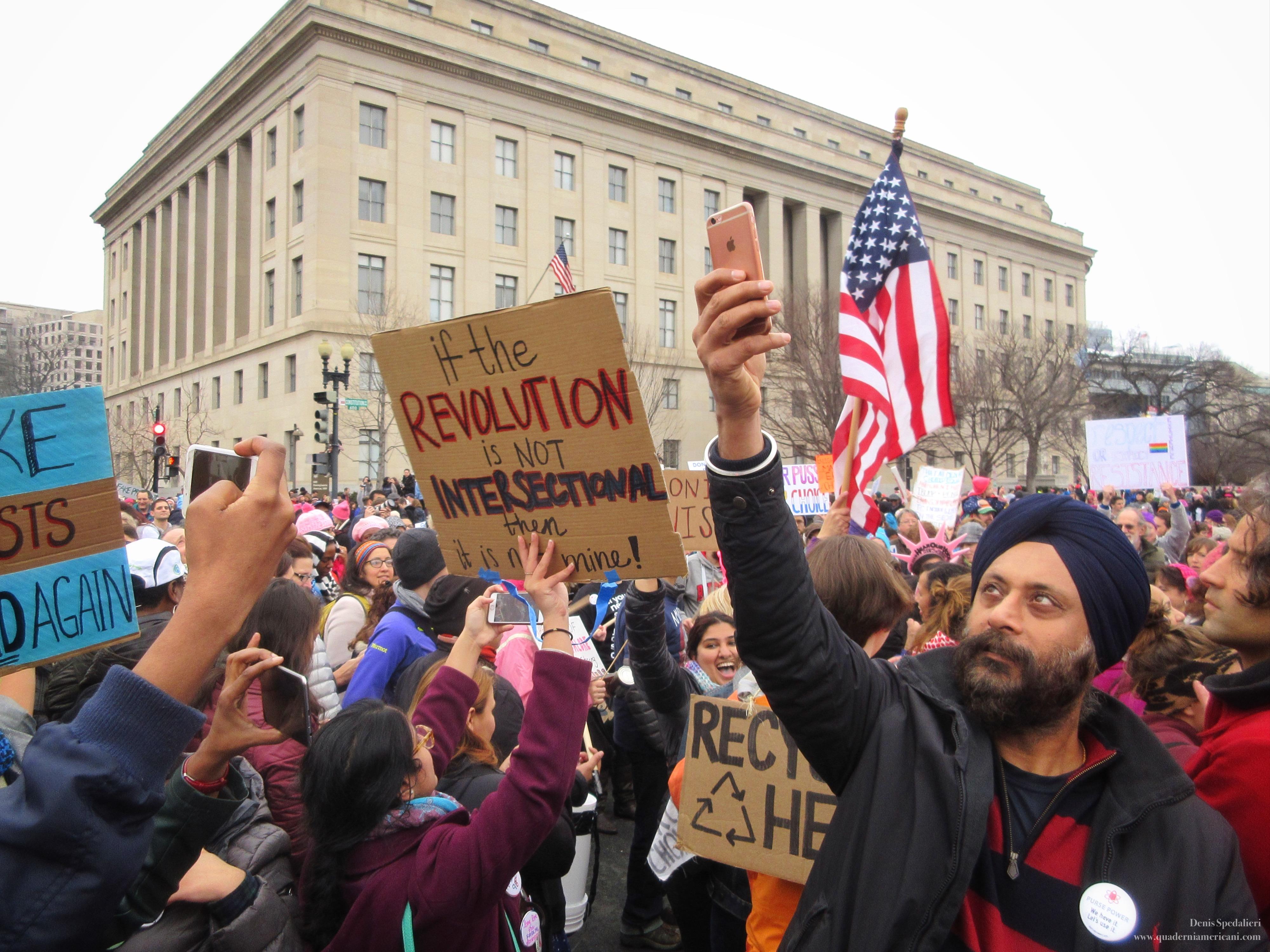 Women's March, Women's March on Washington, Washington