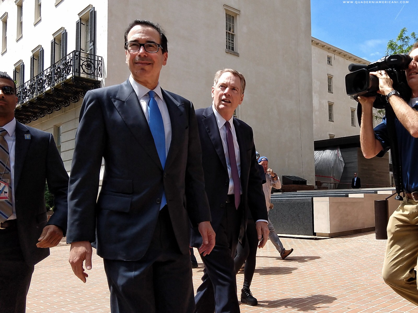 Steve Mnuchin, Robert Lighthizer, Trade War, Guerra Commerciale